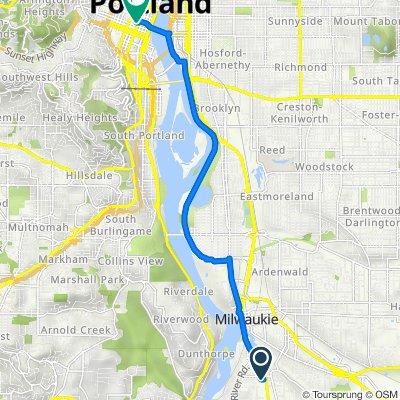 Southeast Park Avenue 2660, Oak Grove to Southwest Madison Street 431, Portland