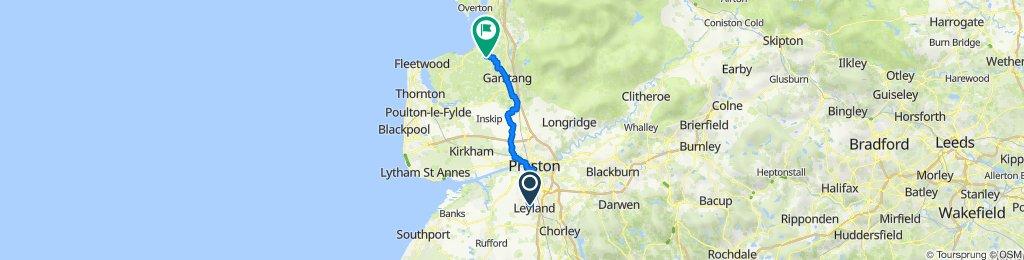 82 Broadfield Dr, Leyland to 1 The Bungalows, Crimbles Lane, Lancaster