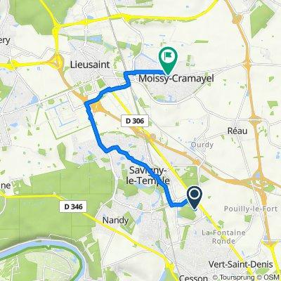 De Maisonement, Cesson à 23–67 Place du 14 Juillet 1789, Moissy-Cramayel