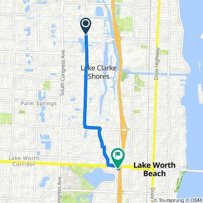 1342 S Florida Mango Rd, Lake Clarke Shores to 1703 Lake Worth Rd, Lake Worth