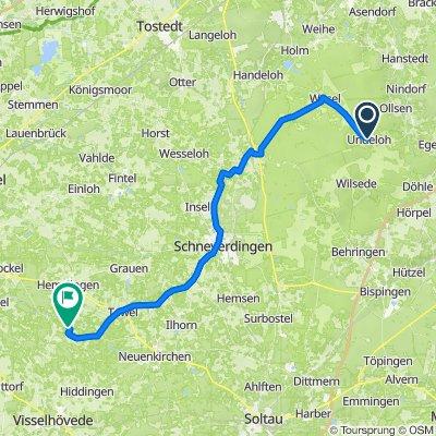 Wilseder Straße 2, Undeloh nach Moordorf 2–8, Visselhövede