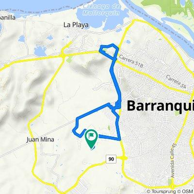 De Carrera 7L, Galapa a Calle 131, Galapa