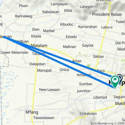kapoy route