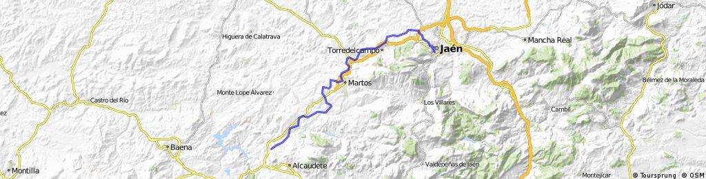 De Alcaudete a Jaén (vía verde del aceite)