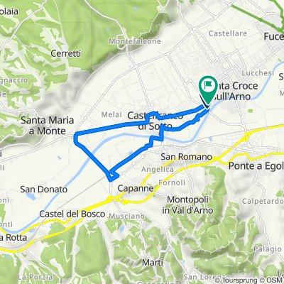 Da Via Sant'Andrea 5–19, Santa Croce sull'Arno a Via Sant'Andrea 4/A, Santa Croce sull'Arno