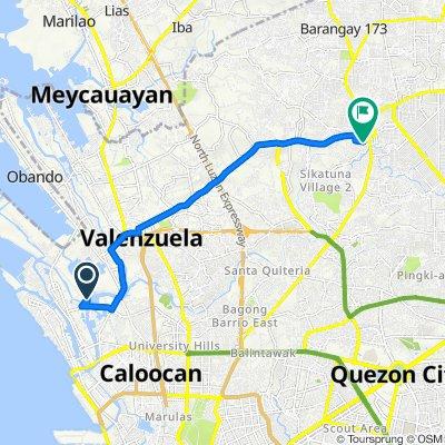 Philippines, Malabon to P2CQ+24M, Quezon City