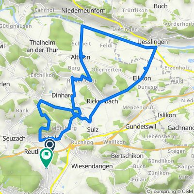 Stadlerstrasse, Winterthur nach Farmerstrasse 18, Winterthur