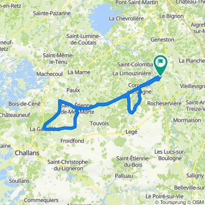 De Allée du Rayon d'Or 4, Saint-Philbert-de-Bouaine à Allée du Rayon d'Or 2, Saint-Philbert-de-Bouaine