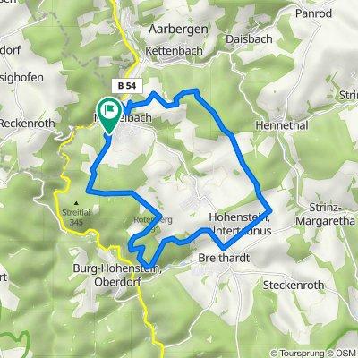 Hermann-Löns-Straße 12A, Aarbergen nach Hermann-Löns-Straße 12A, Aarbergen