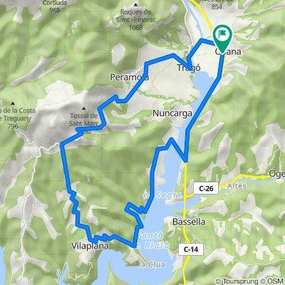 ABike1: Vuelta Oliana-Alt de Peramola (por Peramola)