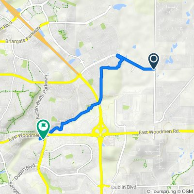 Cottonwood Creek Trail - Austin Bluffs and Woodmen to Research and Black Forest Rd