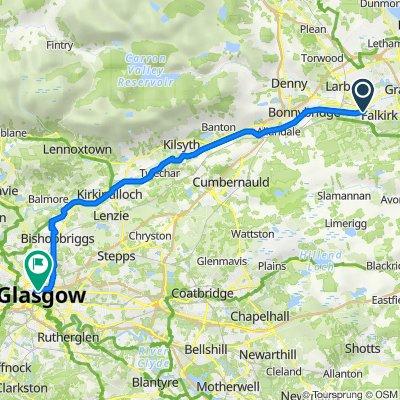 2A Rosebank Beefeater, Main St, Falkirk to 256 Buchanan St, Glasgow