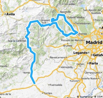 Maqueda - Monte Abantos