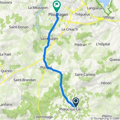 De 1B Rue de la Croix Bouvet, Plœuc-sur-Lié à 7 Rue de Fréhel, Ploufragan