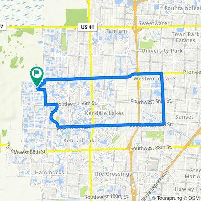 15981 SW 44th St, Miami to 15981 SW 44th St, Miami