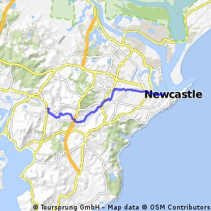 Newcastle to Cardiff