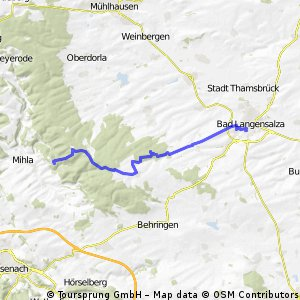 1.Tag der 3-Tage Tour durch den Hainich CLONED FROM ROUTE 965484