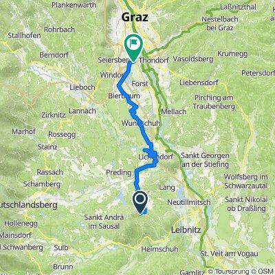 Mitteregg 26 nach Schindlerstraße 37, Feldkirchen bei Graz