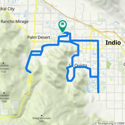 76540 New York Ave, Palm Desert to 76500–76598 Clifton Forge St, Palm Desert