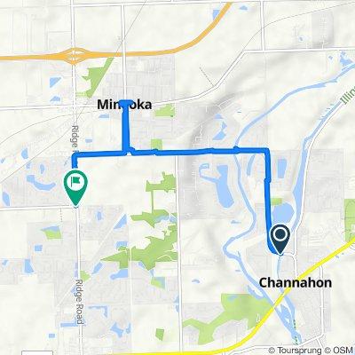 25501 W Knapp St, Channahon to 859 S Ridge Rd, Minooka