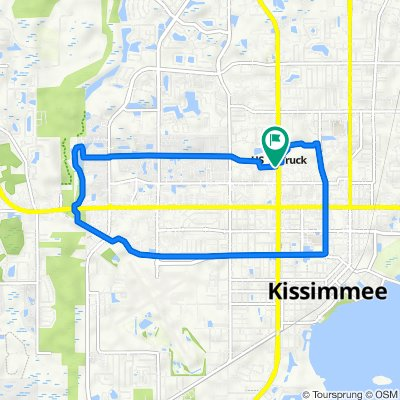 2000 N John Young Pkwy, Kissimmee to 2000 N John Young Pkwy, Kissimmee