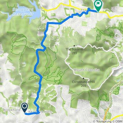 480 Brookfield Road, Kenmore Hills to Waterworks Road, The Gap
