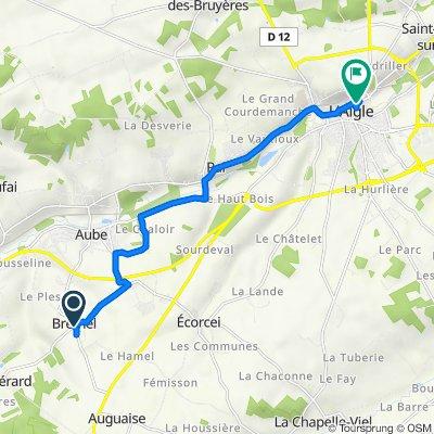 De 6 Le Bourg, Brethel à 18 Rue des Jetées, L'Aigle