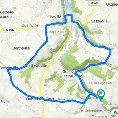 D 131-D 75-Route de Cany
