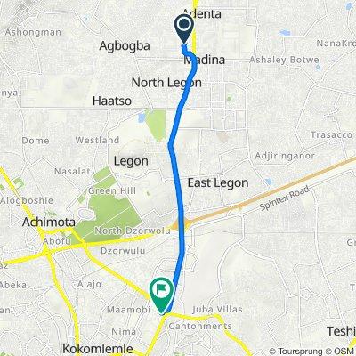 Nyanyo Street 32 to 37 Miils Road, Accra