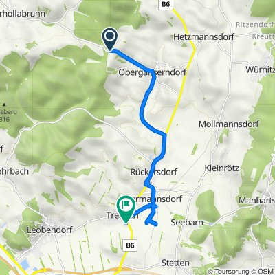 L1109, Harmannsdorf nach Korneuburger Straße (Tresdorf) 8, Tresdorf