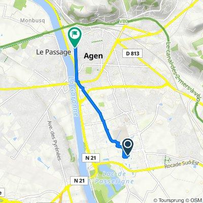De Lamothe Magnac, Boé à 19 Avenue du Général de Gaulle, Agen