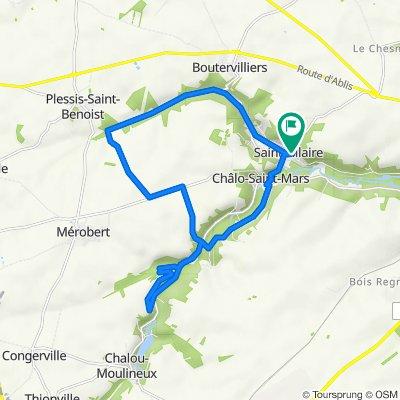 De Montoir de la Croix, Saint-Hilaire à 5 Route de la Pierre Levée, Saint-Hilaire