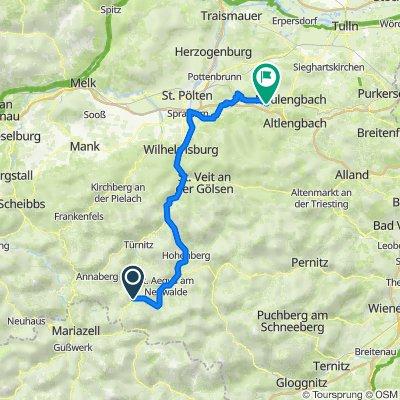 Kernhof Gscheid 4 nach Ollersbach