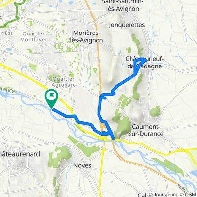 Avingion erwiderte Route zu 1