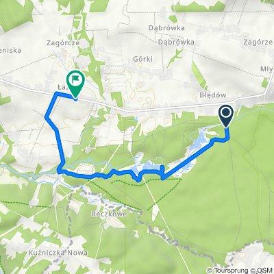 Trasa do Łazy Błędowskie 34, Dąbrowa Górnicza