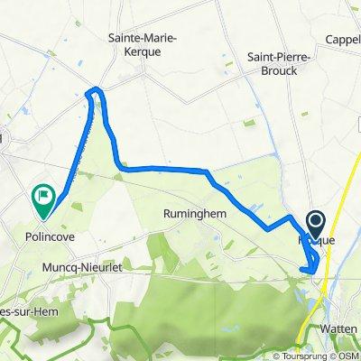 De Route de Bourbourg 13, Holque à Route de Gravelines 1505, Polincove