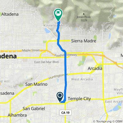 1324 Elm Ave, San Gabriel to 2036 Windover Rd, Pasadena