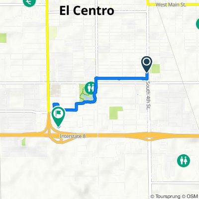 Lenrey Avenue 401, El Centro to South 14th Street 2102, El Centro