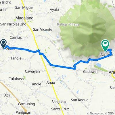Cutud, Mexico to Tree House Road, Arayat