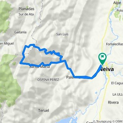 Neiva - Santa Maria - Puerto Tolima - Guacimos