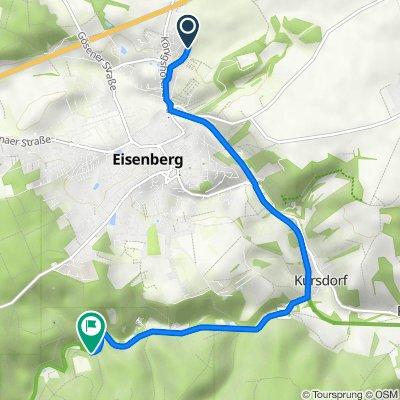 Am Gerichtsberg 29, Eisenberg nach Mühltal, Eisenberg