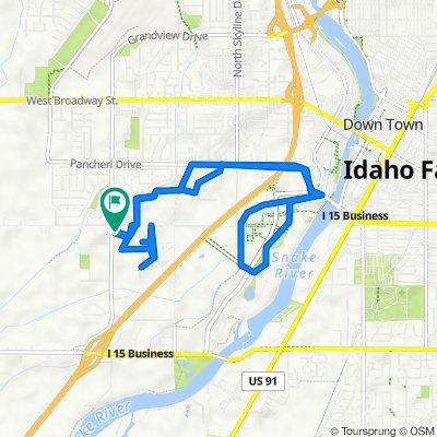 Granite Way 2566, Idaho Falls to Granite Way 2566, Idaho Falls