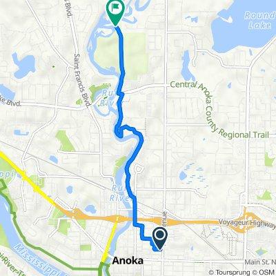 School Street 648, Anoka to 147th Lane Northwest 4780, Anoka