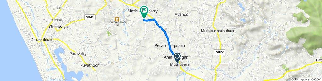 Mahathma Road 10/366, Adatt to Kaiparambu – Parappur Road