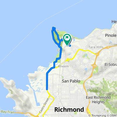 Links Dr, Richmond to 5009 Par Ct, Richmond