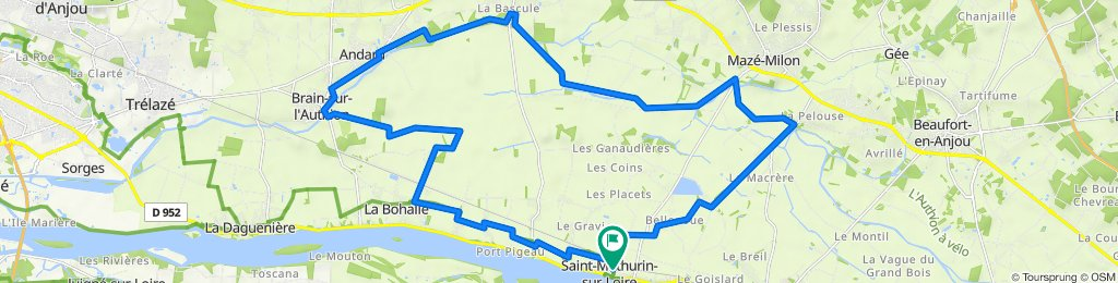 authion Loire Angers