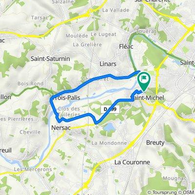 De 2 Avenue des Anciens Combattants, Saint-Michel à 18 Rue des Anciens Combattants, Saint-Michel