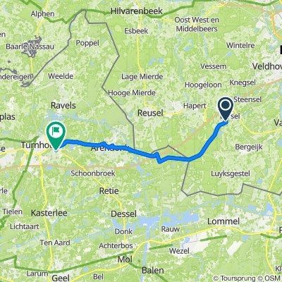 Voortseweg 28d, Eersel naar Dorp 31, Oud-Turnhout