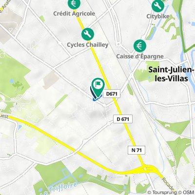 De 10 Place de Montréal, Troyes à 7–11 Place de Montréal, Troyes