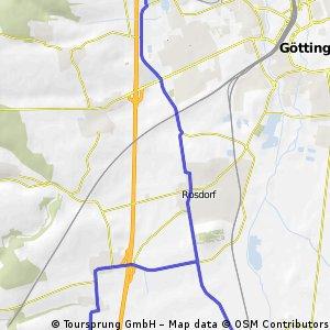 vdK01 - Triathlonrunde ~ 30 km